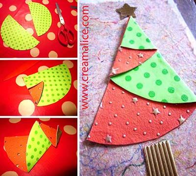 diy carte sapin no l origami origami noel and scrapbooking. Black Bedroom Furniture Sets. Home Design Ideas