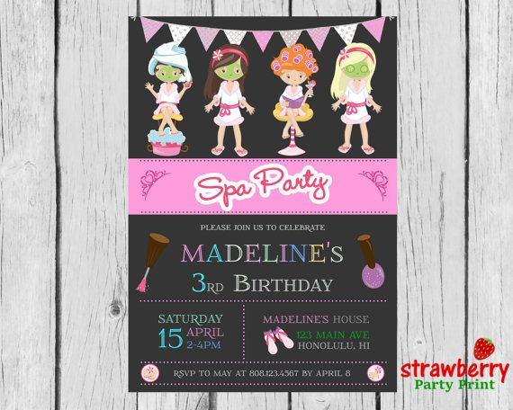 Custom invitations for birthday party selol ink custom invitations stopboris Image collections