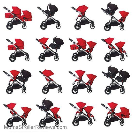 Baby Jogger City Select LUX 2017 with extra seat