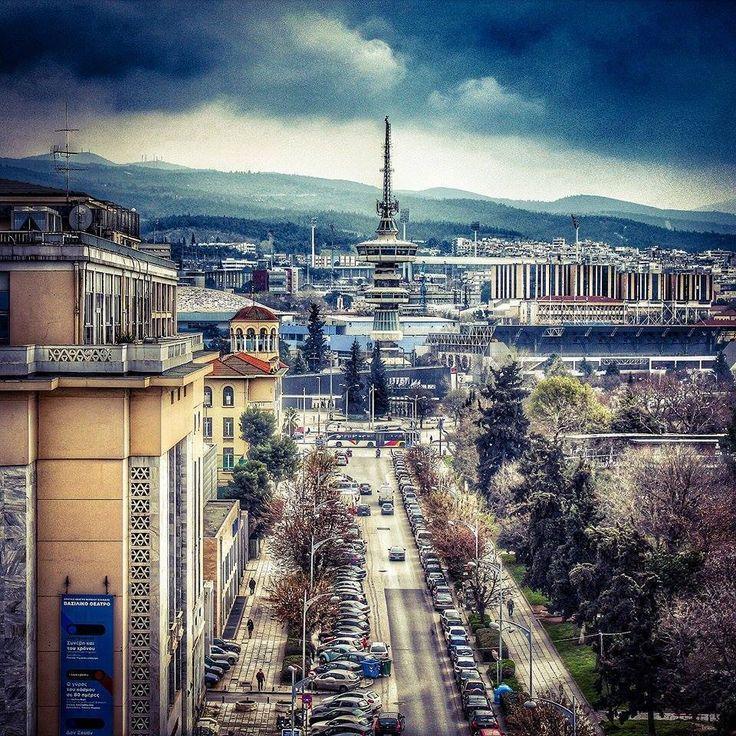 Θεσσαλονικη - Πυργος του  ΟΤΕ