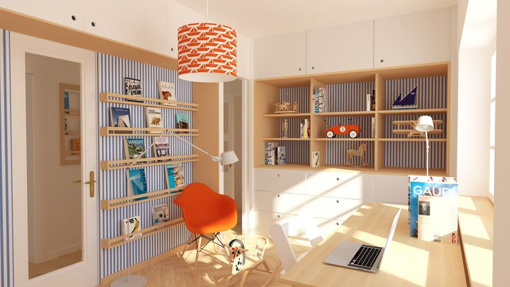 design children's room   dětský pokoj