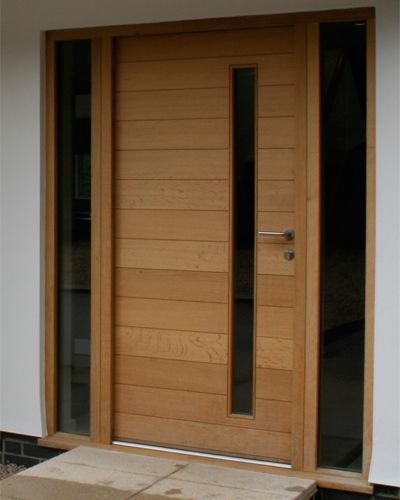 17 best ideas about modern front door on pinterest house for Contemporary front doors