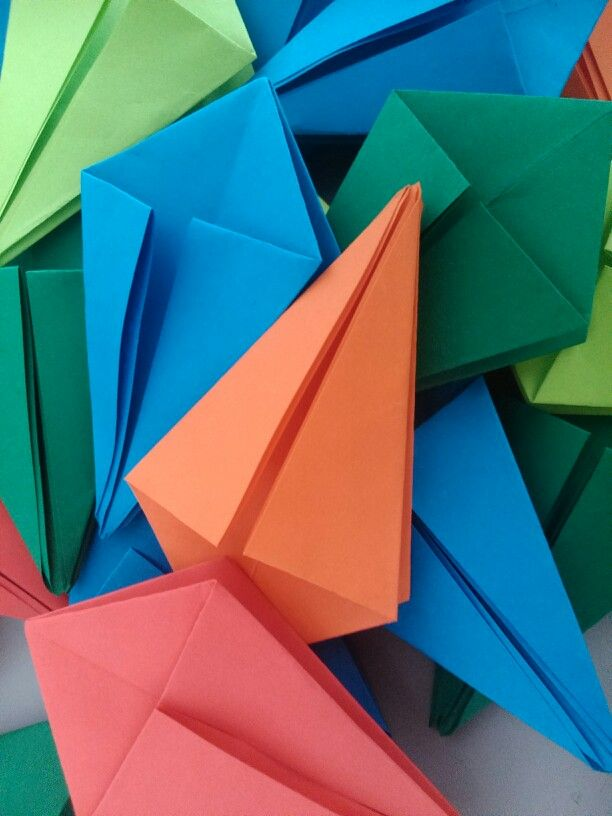 Origami en proceso