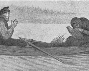 Over Sjoe Og Elv - Theodor Severin Kittelsen