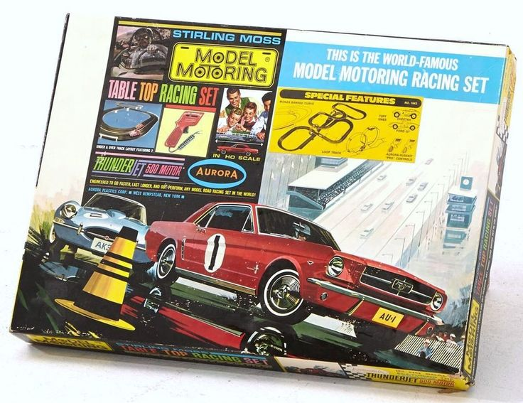 Aurora Slot Car Racing Sets