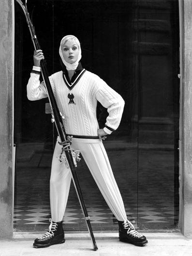 """Completo da sci, 1957  Emilio Pucci  Skea Limited Ski Inspiration: """"Follow you passion to your dreams"""" -SKEA www.skealimited.com"""