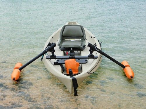 Canoe Outriggers - Standard Orange - Yak Gear  http://www.yak-gear.com/shop/kayak-gear-outriggers/canoe-outriggers-orange