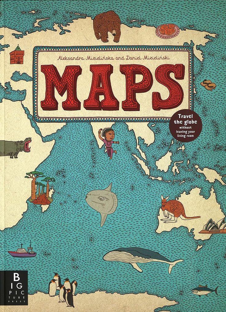 Consigue aquí «Maps», un extraordinario atlas visual infantil en inglés, uno de los álbumes ilustrados mejor valorados internacionalmente de 2013: https://www.veniracuento.com/content/maps