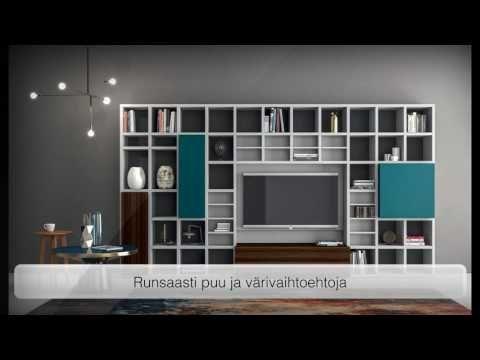SPEED hyllyt, kirjahyllyt, seinä ja moduulihyllyt Katso tästä lisää: http://www.onlineitalianfurniturestore.com/