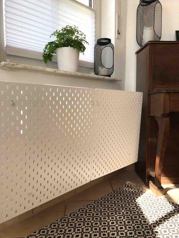 Ikea Hack Heizkörperverkleidung - Weltenbunt | Wohnzimmer in 2019 ...