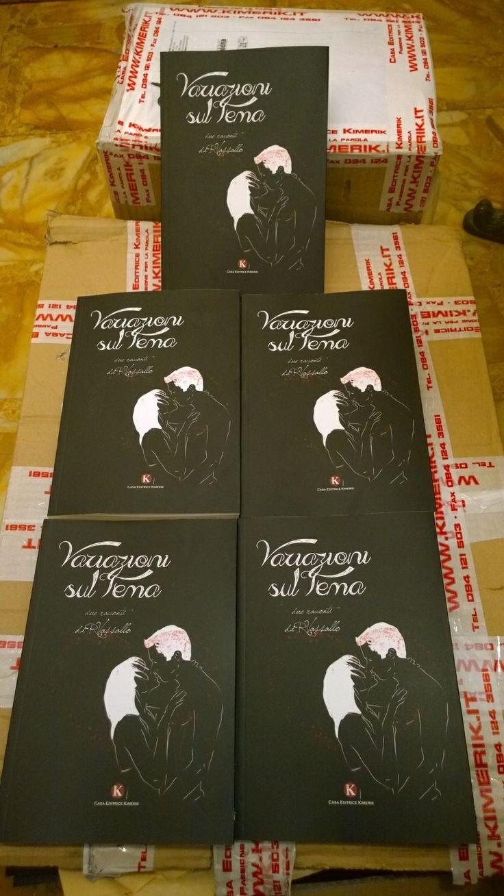 Sono arriviati i libri...pronti per la distribuzione