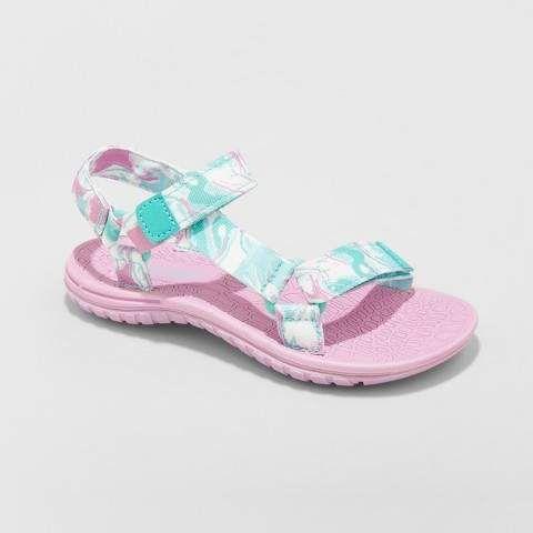 a395fd3e1032 Girls  Finola Easy Closure Strap Sport Sandals - art class   Instep strap Features
