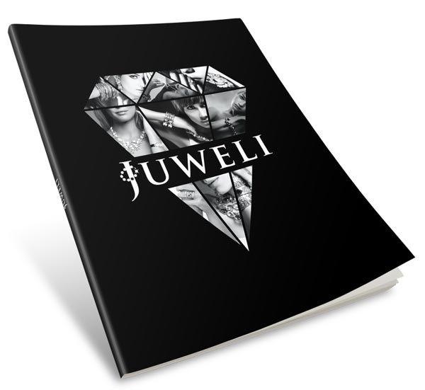 Juweli. Brochure DesignBrochuresMinimalistBrandingCollage