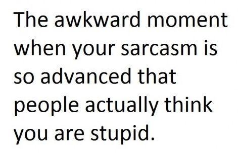 SarcasmSarcasm, Awkward Moments, Life, Laugh, Quotes, Funny Stuff, Humor, Things, True Stories