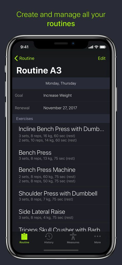 iPhone] SmartGym: Manage Your Workout ($3 99 to #Free