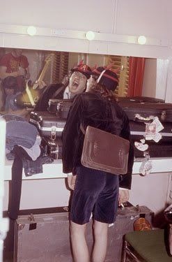 Angus - Backstage on HTH Tour 1979