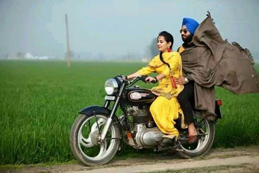 Punjabi couple