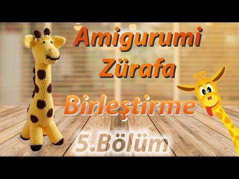 Amigurumi: Zürafa Yapımı 5.Bölüm - Amigurumi Zürafa Birleştirme