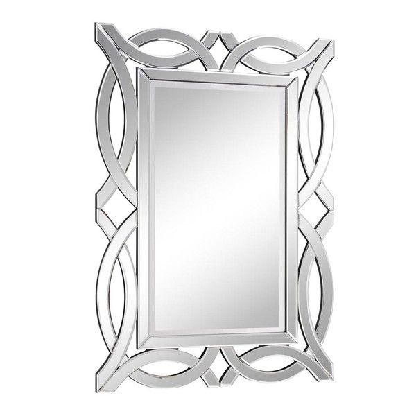 Elegant Lighting Myra Rectangle Oversized Wall Mirror