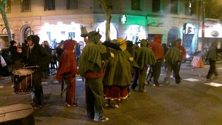 El correfoc de Sant Antóni, Barcelona