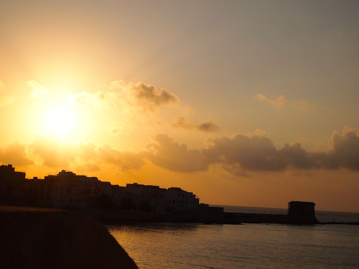 sunset in Trapani