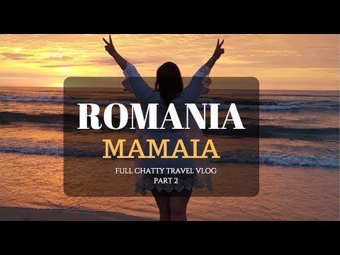 ROMANIA MAMAIA - PART 2 - CHATTY FULL TRAVEL VLOG  PLAJA EGO; BREEZE; DISKO FRATELLI USW IM MAMAIA AMSCHWARZMEERKÜSTE:1 euro KAFFEE; 2 Euro Bier, 7 eURO eSSEN IM restaurant