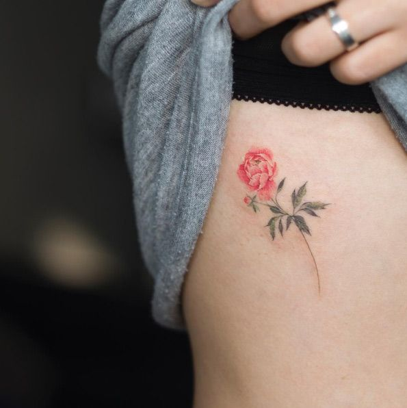 Small peony by Sol Art