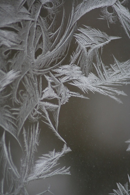 Frost on window..... Natures very own Michaelangelo