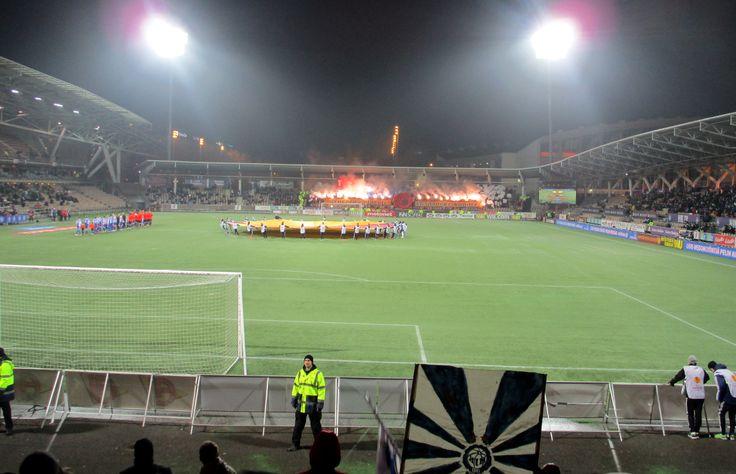 27.11.2014 HJK-FC Kobenhavn, Töölön jalkapallostadion, Helsinki (UEFA Europa League)