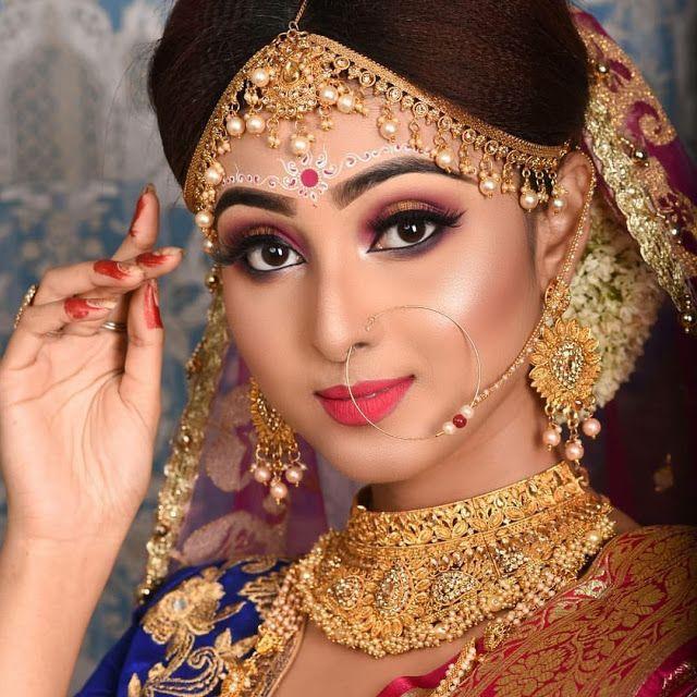 Top 20 Trendy Indian Bridal Makeup Images Makeup Artist In Delhi Bridal Makeup Images Indian Bridal Makeup Bengali Bridal Makeup