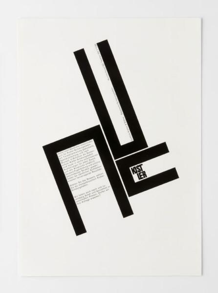Design by Siegfried Odermatt, Odermatt Tissi, Zürich, 29.8 x 21.2 cm
