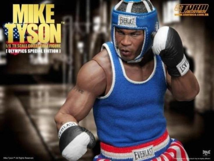 Storm Toys 1/6 Boxing King MIKE TYSON Olympic Special New - Brought to you by Avarsha.com