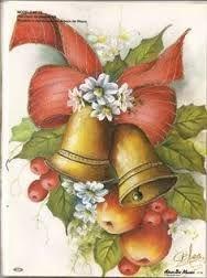 Resultado de imagen para pinterest pintura en tela navideña                                                                                                                                                                                 Más