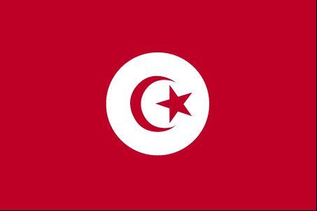 Country Flags: Tunisia Flag