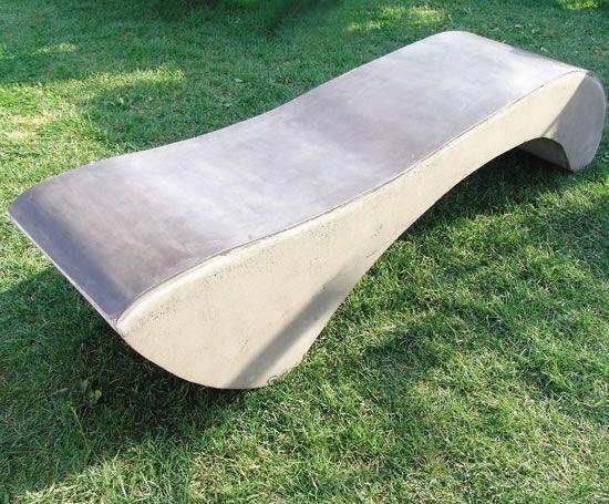 Amesbury Concrete Bench
