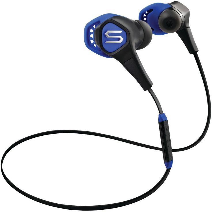 Soul Run Free Pro Hd Bluetooth Sport Earbuds (blue)