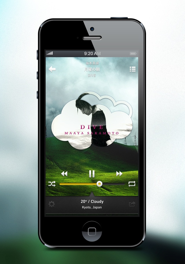 Weather x Music Player