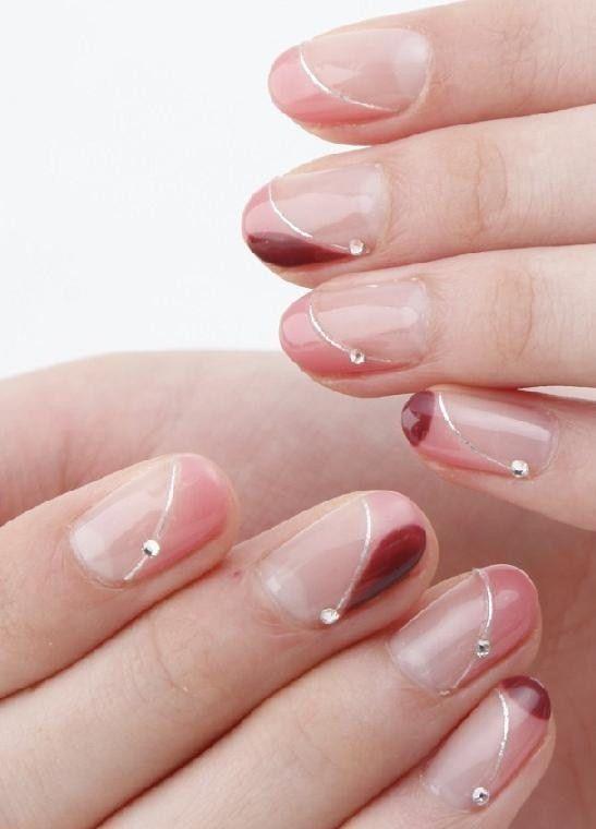 Trend Alert: Tarashikomi Nail Art