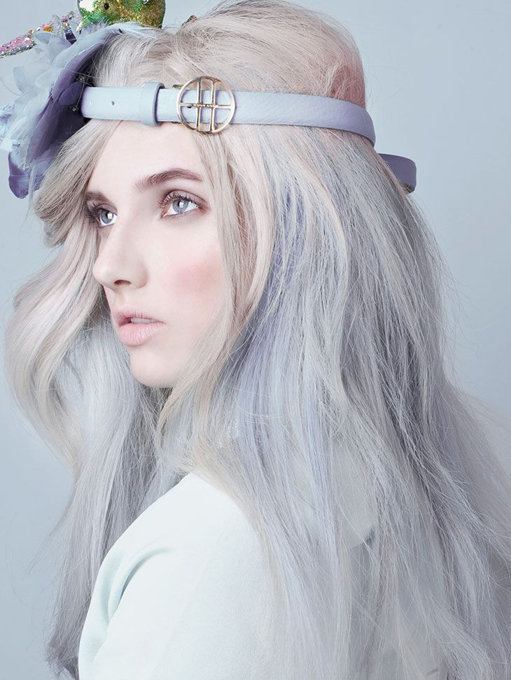 """""""Photographer Natalia Madejska shares her latest beauty editorial, inspired by Summer pastel looks. Starring model Veronika, makeup and hair by Sophie Chudzikowski, styling by Nina Kepplinger. Take a look at the complete series below.  Photographer: Natalia Madejska  website   Model: Veronika  Look Models   Makeup & Hair: Sophie Chudzikowski  Perfectprops   Styling: Nina Kepplinger   Perfectprops   Photoassistent: Tom Binder"""""""