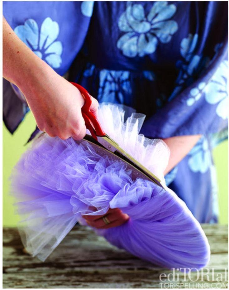 Tudo De Bem Festas - O Blog: Como fazer pompom de tule