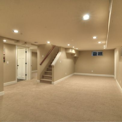 Lovely Finished Basement Low Ceiling