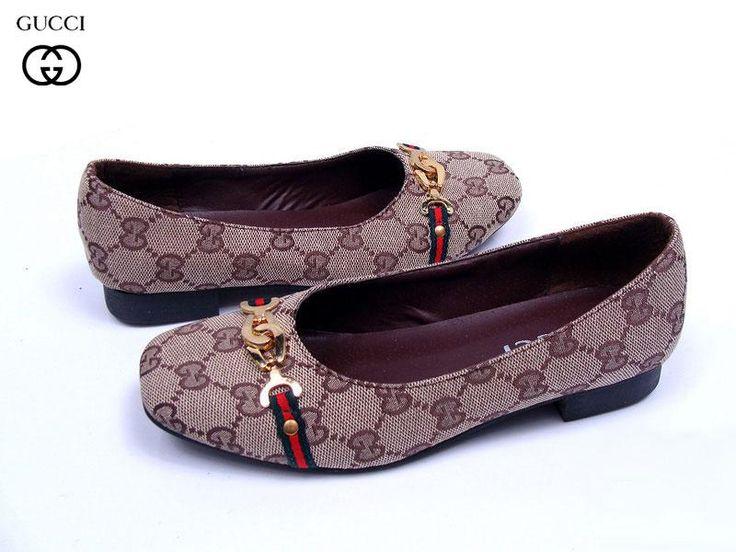 Zapatos Gucci Mujer PH52Bailarinas Gucci Mujer Sin Cordones Azulejos y Venta Caliente
