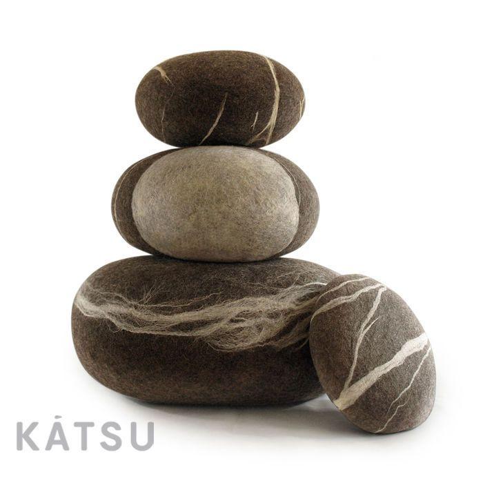 """Купить Подушка-камень. Пуф-камень. Модель """"Морская галька"""" - подушки и пуфы камни"""