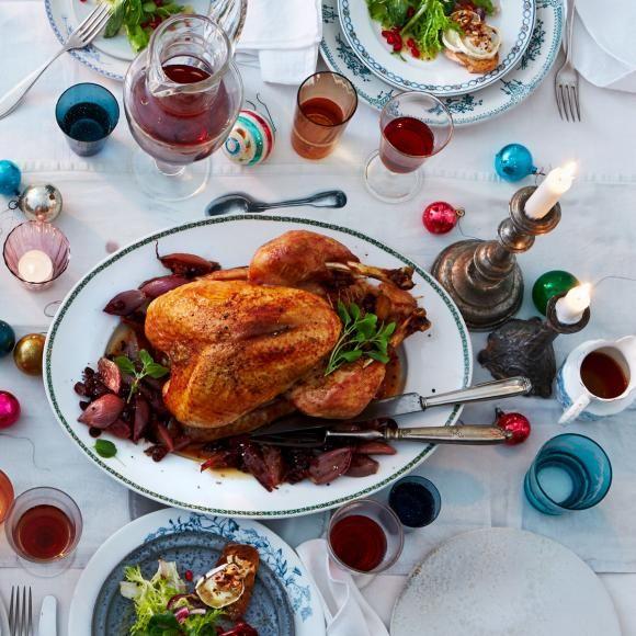 Rezept: Christmas-Turkey mit Schalottengemüse