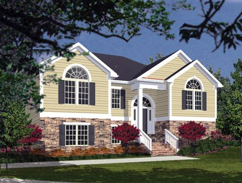 25 b sta split level house plans id erna p pinterest for Split foyer house designs