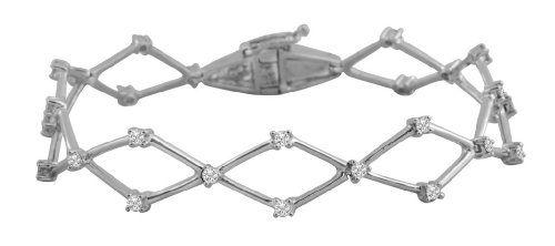 1.03 CTW Diamond Tennis Bracelet 14K White Gold RMC Worldwide http://www.amazon.com/dp/B0077RXBH8/ref=cm_sw_r_pi_dp_I4J9tb1VW07ZH