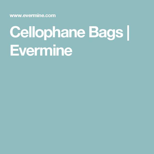 Cellophane Bags | Evermine