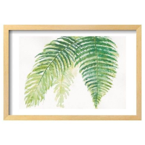 Ferns III Square by Chris Paschke is a Framed Art Print expertly set in a Chelsea Natural wood frame.  Framing gives the artwork a refined look, bringing a touch of sophistication to your space. Framing the artwork provides an added dimension and level of detail to any piece. Produced on medium weight cover stock, this art reproduction is coated with a silken finish that protects the inks and creates an elegant look. An acrylic coating protects the stunning print from dust, moisture and…