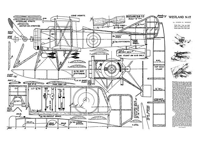 Westland N-17 : Outerzone photo gallery   Авиамоделирование