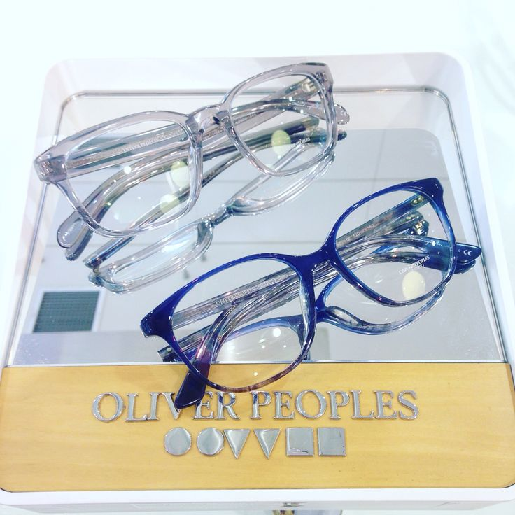 Oliver Peoples.. for him.. and.. for her.. available now at Be Seen Optics!